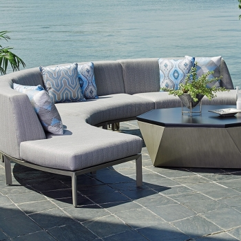 RSF CURVED SECTIONAL LOVE SEAT